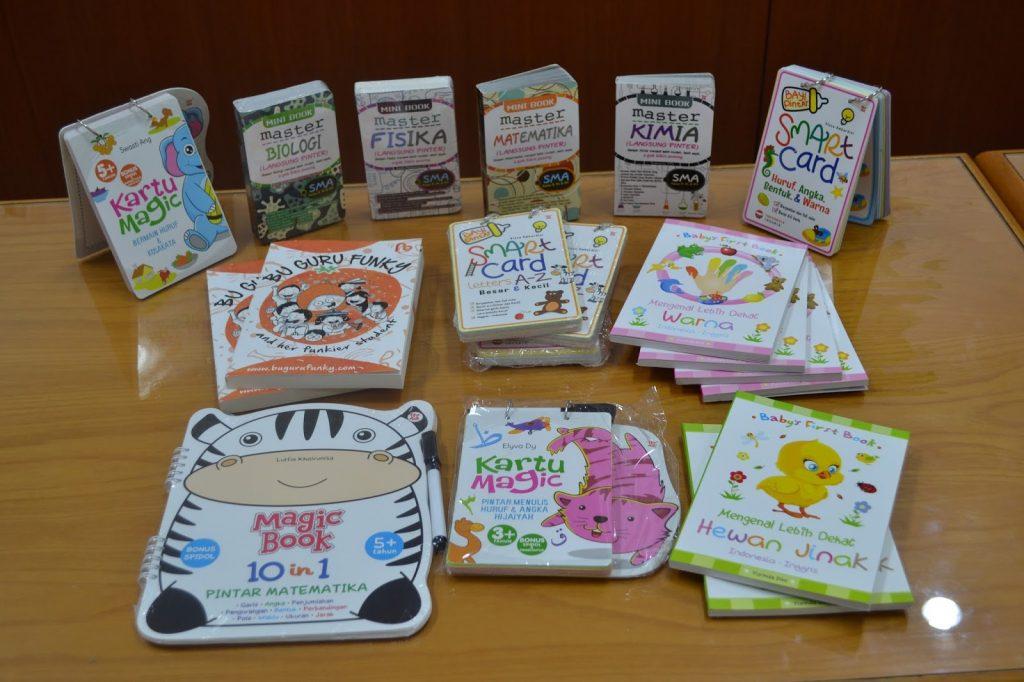 Contoh Hasil Cetak Buku Anak-Anak