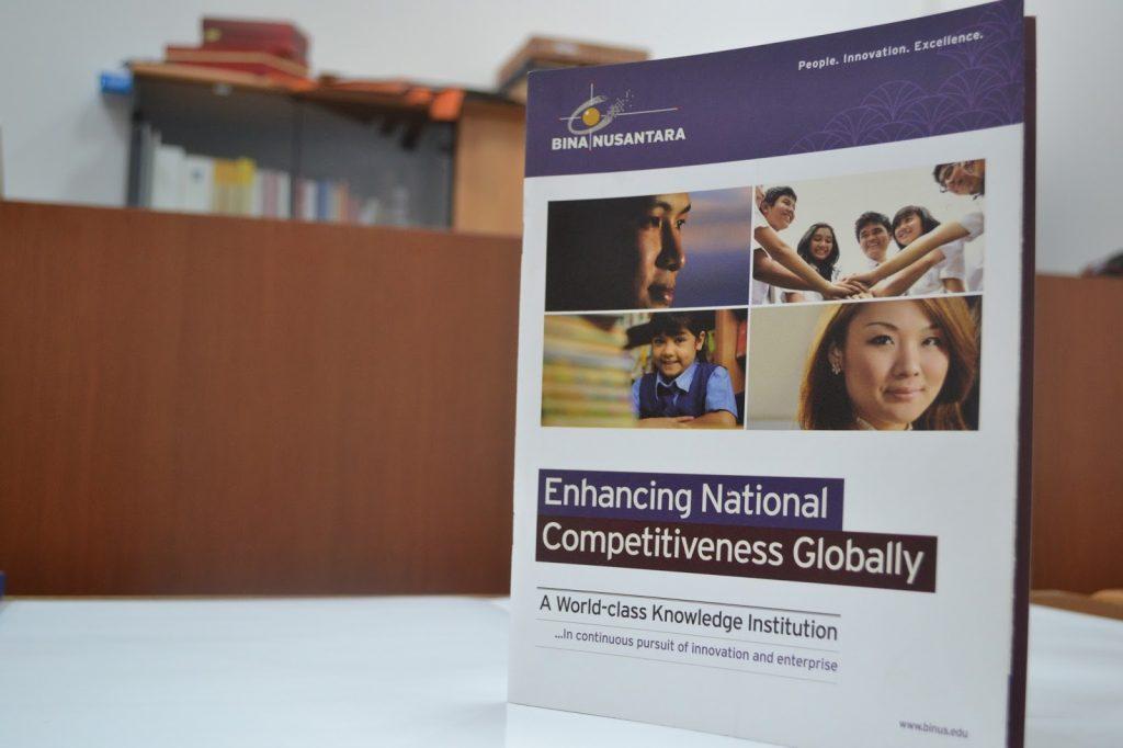 Buku Company Profile Bina Nusantara