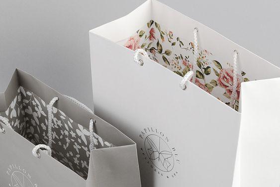 contoh desain shopping bag desain inner