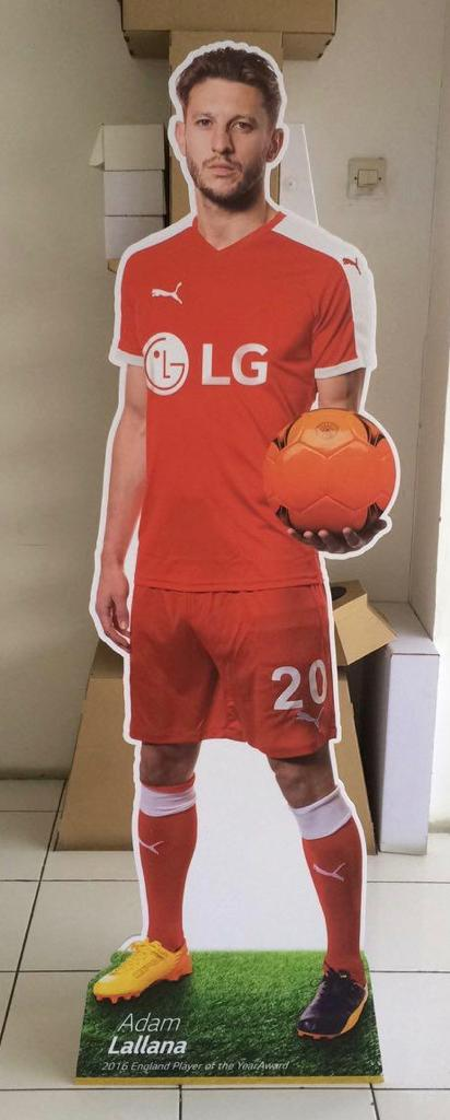 Standee Life Size Pemain Bola
