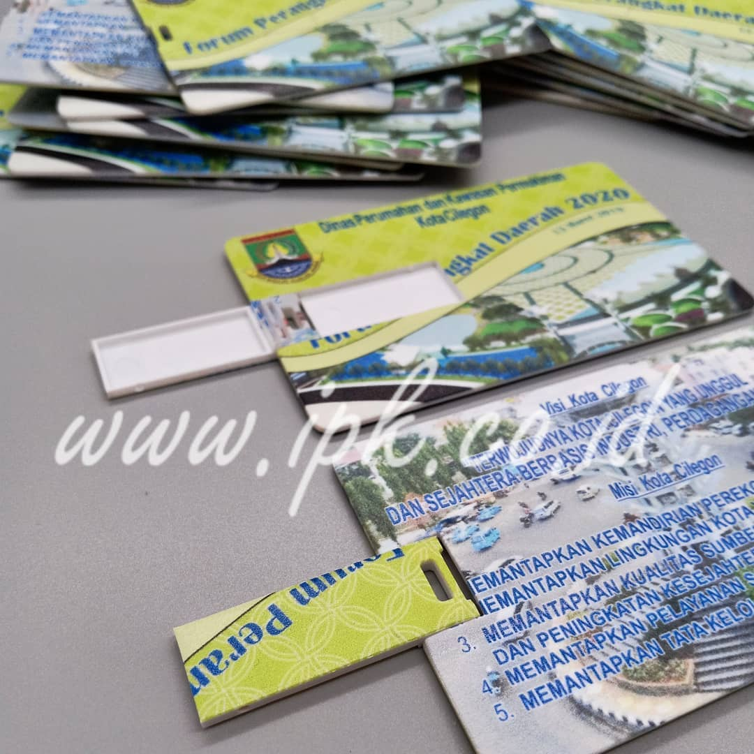 custom usb flash drive kartu flatbed